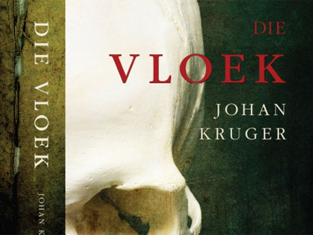 Die Vloek Book Cover Design
