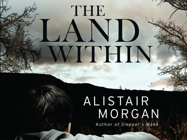 The Land Within Book Cover Design