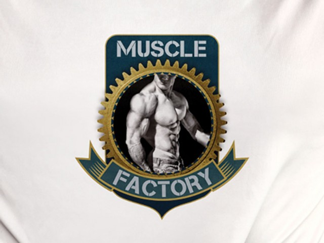 Muscle Factory corporate identity design