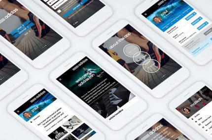 Adidas 3Stripes Website & App design and development