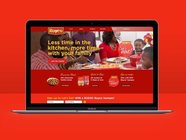 Royco Let's Eat platform