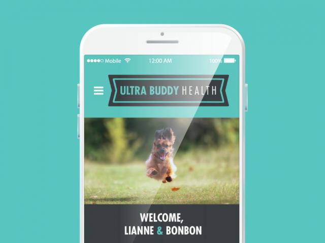 Ultra Buddy app design