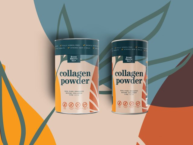 Collagen Powder packaging