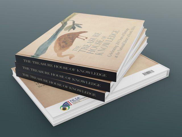 National Library of SA publication design